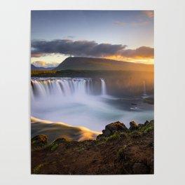 Goðafoss Poster