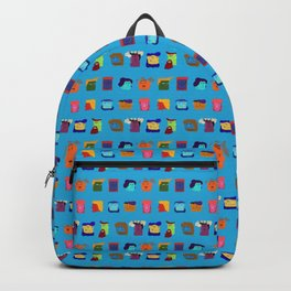 12 Unsatisfied Customers - Beaucoup Blue Backpack