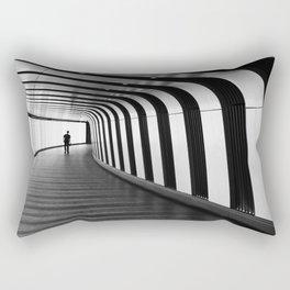 Futuristic Underground Rectangular Pillow