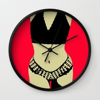 body Wall Clocks featuring Body by MillennialBrake