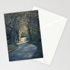 The love trail Stationery Cards