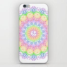 Chakra Om iPhone Skin