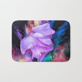 Floral Rainbow Bath Mat
