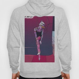 Princess Cyberspace dj model cyberpunk 80s Hoody