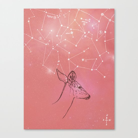 Constellation Prize Canvas Print