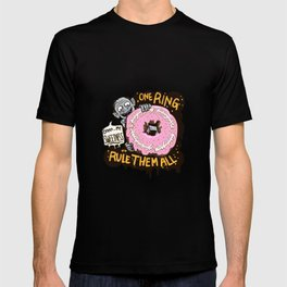 Lord of the Donut Rings T-shirt