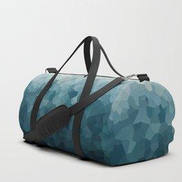 Ice Blue Mountains Moon Love Duffle Bag