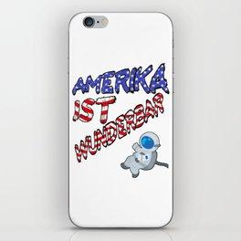 Amerika ist wunderbar iPhone Skin