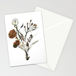 Bouquet with flowers Stationery Cards