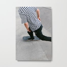 Skating 03 Metal Print