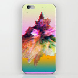 Clashing Stars Print iPhone Skin