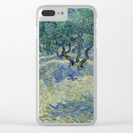 Vincent Van Gogh Olive Orchard Clear iPhone Case