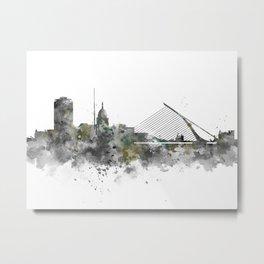 Dublin Skyline Metal Print