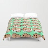 cookies Duvet Covers featuring Cookies by Chelsea Herrick