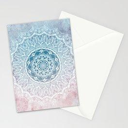 VINTAGE SPRING LACE MANDALA Stationery Cards