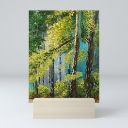Woods Landscape Mini Art Print