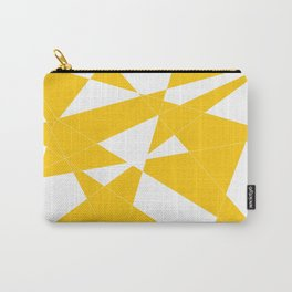 yellow diamond Carry-All Pouch
