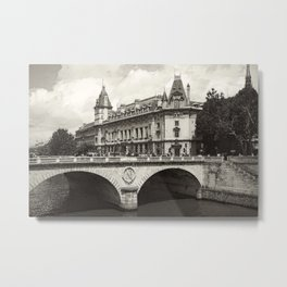 Pont Neuf Paris Metal Print