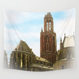 Church @ Lille, France Wall Tapestry