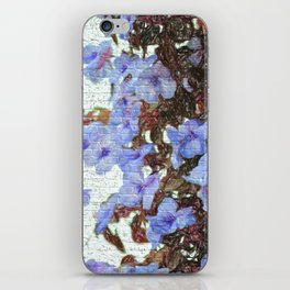 Urban flowers iPhone Skin