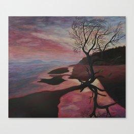 Maremma Sunset Canvas Print
