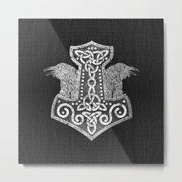 Mjolnir  - the hammer of Thor Metal Print