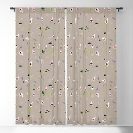 Polyhedral Dice- Alchemist's Table Blackout Curtain
