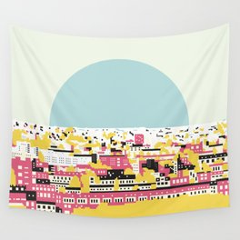 Rooftop view Wall Tapestry