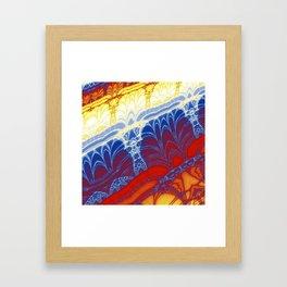Fractal Arches Framed Art Print
