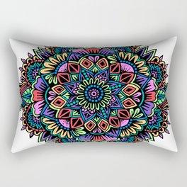 Gelly Roll Mandala Rectangular Pillow