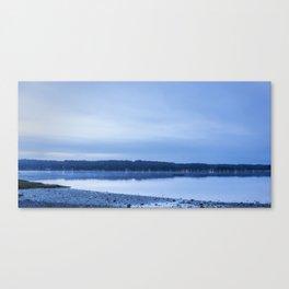 Breaking Blue Canvas Print
