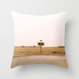 road 92 Throw Pillow