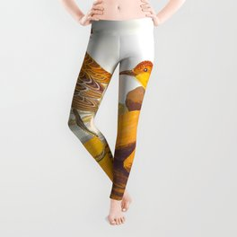Buff-breasted Sandpiper Bird Leggings