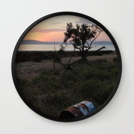 The Place to Be Wall Clock