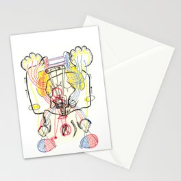 Sensory Systems 4 Stationery Cards