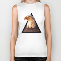 eagle Biker Tanks featuring EAGLE by eARTh