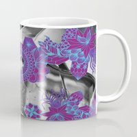 geode Mugs featuring Geode 2 by michiko_design