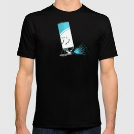 Aerosoiled T-shirt