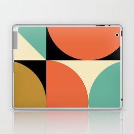 Mid Century Modern Geometric Abstract 235 Laptop & iPad Skin