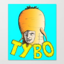 Tybo (Lost in Space) Canvas Print