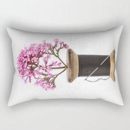 Wooden Vase Rectangular Pillow