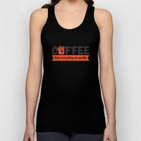 Coffee Rules Everything Around Me Unisex Tank Top