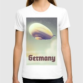 Germany Blimp vacation poster T-shirt