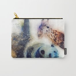 Animals Painting Carry-All Pouch