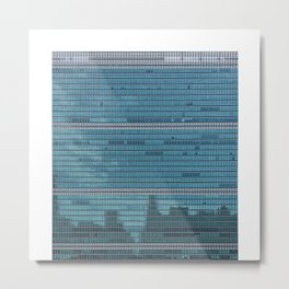 Headquarters of the United Nations Metal Print