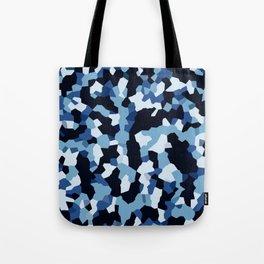 Pix Camo Shades of Blue Tote Bag