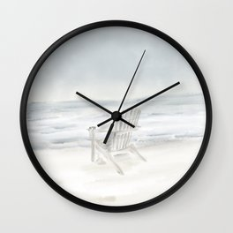 Summer's End • Goose Rocks Beach (Kennebunkport) Wall Clock