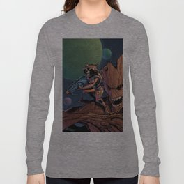 Rocket and groot Long Sleeve T-shirt