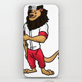 Baseball Pitcher Gift Sport Catcher Batter iPhone Skin