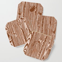 c13D Woodgrain Coaster